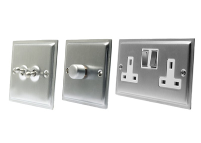 Rechrome Switches and Sockets