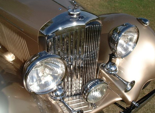 Chroming services for classic cars