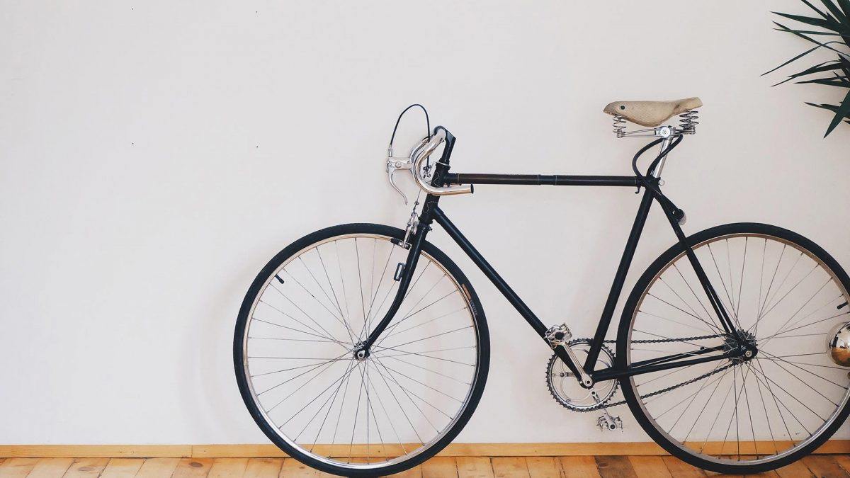 Vintage bike rechrome